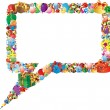 Foto de Stock  : Speech bubbles
