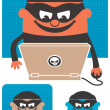 Royalty-Free Stock Vector Image: Computer Crime