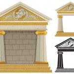 Greek Temple — Stock Vector #13533975