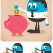 Savings — Stock Vector