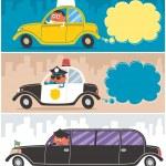 Постер, плакат: Cars & Drivers