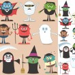 Halloween Characters — Stock Vector #13897080