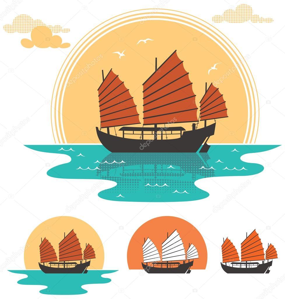 boat | 图库矢量图像08
