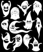 Ghosts — Stock Vector