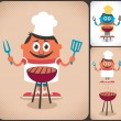 Barbecue — Stock Vector #31340209