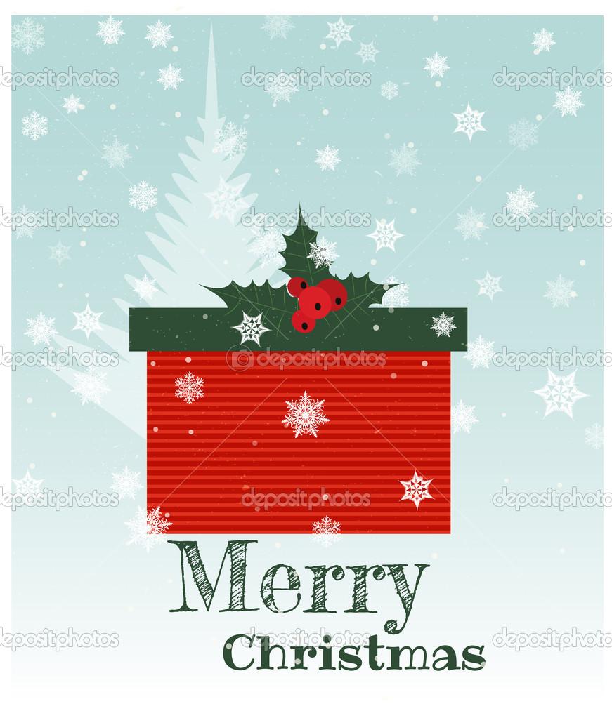 圣诞礼物箱 — 图库矢量图片 #13784137