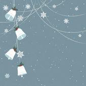 Minimal Christmas background — Stock Vector