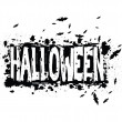 Halloween grunge silhouette background — Stock Photo #31108979