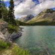 lake minnewanka — Stock Photo