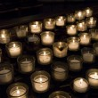 Church Prayer Candles — Stock Photo