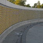 WWII Memorial Stars — Stock Photo