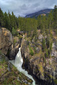 Sunwapta Falls — Stock Photo