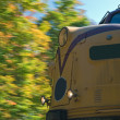 Locomotive in Motion — Stock Photo
