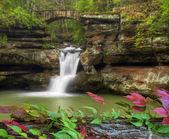 Hocking HIlls Waterfall — Stock Photo