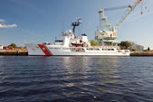Coast Guard Ship — Stock Photo