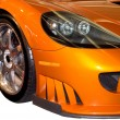 Stock Photo: Front Fender of Stylish Sports Car