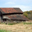 Stock Photo: Rundown Barn