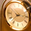 Brass Clock — Stock Photo