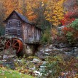 Autumn at the Grist Mill — Stock Photo