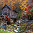 Постер, плакат: Autumn at the Grist Mill