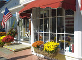 Main Street U.S.A. Store Front — Stock Photo