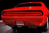 Oranžové svalové auto — Stock fotografie