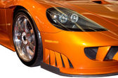 Front Fender of a Stylish Sports Car — Stock Photo