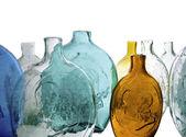 Starožitné lahvičky — Stock fotografie