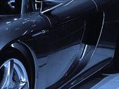 Blue Sports Car — Stockfoto