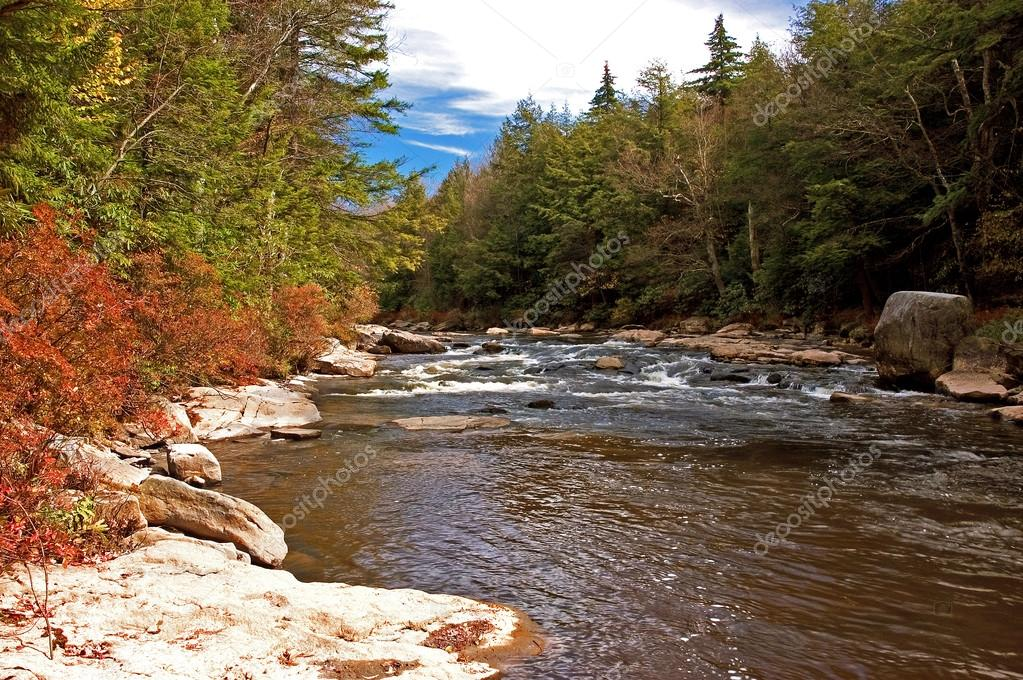 River Falls Virginia River in West Virginia