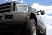 Truck against The Sky — Stock Photo