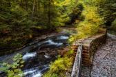Filmore Glen Waterfalls — Stock Photo