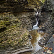 Watkins Glen Waterfalls — Stock Photo
