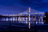 Veterans Glass City Skyway Bridge — Stock Photo