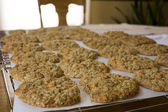 Oatmeal Scotchies Cookies — Stock Photo