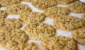 Oatmeal Scotchies Cookies — 图库照片