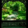 Garden Gazebo — Stock Photo