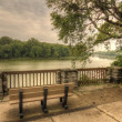 Stock Photo: River Overlook