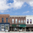 Small Town Main Street  — Stock Photo #49136957