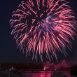 Fireworks On The River — Stock Photo #49139291