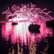 Fireworks On The River — Stock Photo #49139305