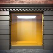 пустой витрина — Стоковое фото