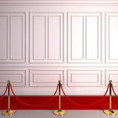 Red carpet abstract awards. — Stock Photo