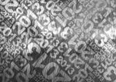 2013 typographic texture — Stock Photo