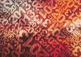 2012 rot typografische textur — Stockfoto