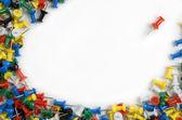 Fixeringsmedel för ark pape — Stockfoto