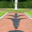Stock Photo: RussiCatherine palace garden statue