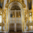 Golden palace door in Russia — Stock Photo