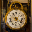 Old Russian vintage analog clock — Stock fotografie