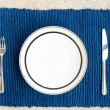Dinner set with fork and knife — Stock Photo #12692397